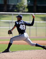 Eric Arnett - Milwaukee Brewers 2009 Instructional League. .Photo by:  Bill Mitchell/Four Seam Images..