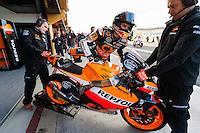 Marc Marquez ready to test his new MotoGP machine