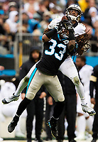 Photography of the Carolina Panthers v. The New Orleans Saints during their Sunday afternoon NFL game at Bank of America Stadium in Charlotte, NC.<br /> <br /> Charlotte Photographer - Patrick SchneiderPhoto.com