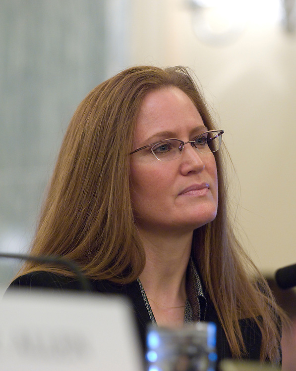 "Christine Jones, general counsel and corporate secretary of the The Go Daddy Group, Inc. testifies before the Senate Commerce, Science and Transportation Committee Child Internet Protection full committee hearing on ""Protecting Children on the Internet.."