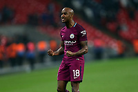 Fabian Delph of Manchester City after Tottenham Hotspur vs Manchester City, Premier League Football at Wembley Stadium on 14th April 2018