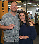 Eric and Katie Brown during the Jack T. Reviglio Cioppino Feed & Auction at the Donald W. Reynolds Facility in Reno on Saturday, February 25, 2017.