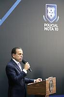 São Paulo (SP), 09/04/2019 - Política / São Paulo / Dória - João Doria, Governador de São Paulo, homenageia aos integrantes das polícias Civil, Militar e Técnico-Científica que atuaram no atentado aos alunos da escola Raul Brasil, em Suzano, e a tentativa de roubo a dois bancos de Guararema, através do programa Policial Nota 10, nesta terça-feira, 9. (Foto: Charles Sholl/Brazil Photo Press/Agencia O Globo) Politica