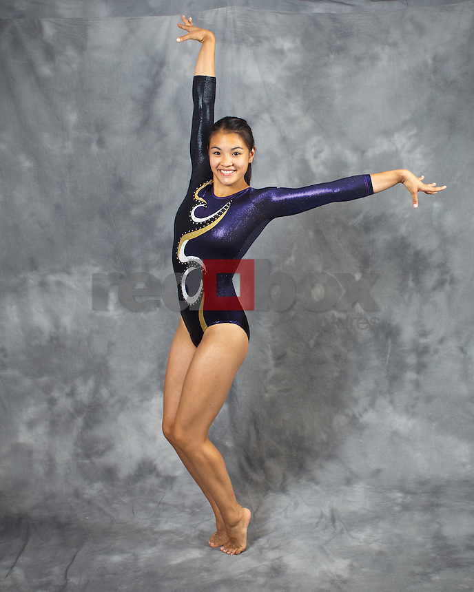Phoebe Tham..---------2011-2012 University of Washington Gymnastics team photographed on Thursday, September 22, 2011. (Photo by Dan DeLong/Red Box Pictures)