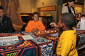 Participants were invited to come out and learn to play ancient games this past Saturday at the Oriental Institute located at 1155 E. 58th Street.<br /> <br /> Jua Brown and Bennie Payne played a game called Senet.