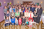 Sheila O'Leary, Beheenagh, Headford pictured with her family and friends as she celebrated her 80th birthday in the Heights Hotel, Killarney on Friday night.