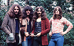 Black Sabbath 1970 Bill Ward, Tony Iommi, Geezer Butler and Ozzy Osbourne..© Chris Walter.