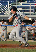 June 30, 2003:  Ryan Bear of the Jamestown Jammers, Class-A affiliate of the Florida Marlins, during a NY-Penn League game at Dwyer Stadium in Batavia, NY.  Photo by:  Mike Janes/Four Seam Images