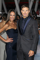 LOS ANGELES, CA - NOVEMBER 12: Sharni Vinson and Kellan Lutz at the premiere of Summit Entertainment's 'The Twilight Saga: Breaking Dawn - Part 2' at the Nokia Theatre L.A. Live on November 12, 2012 in Los Angeles, California. Credit: mpi29/MediaPunch Inc. /NortePhoto