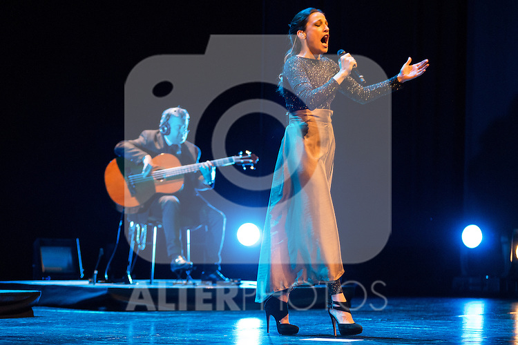 Singer Carminho during the V Mado Festival Madrid at Theatre Canal in Madrid, Spain. June 26, 2015.<br />  (ALTERPHOTOS/BorjaB.Hojas)