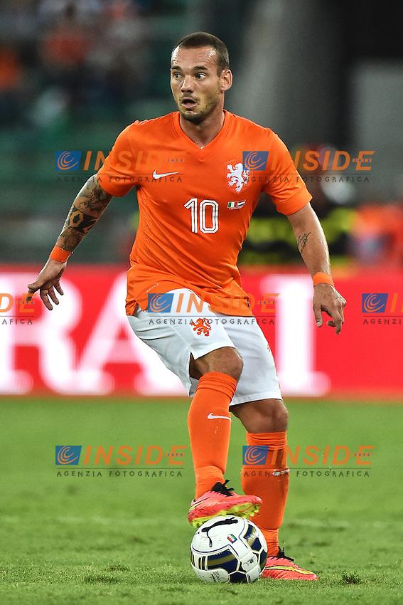 Wesley Sneijder Netherlands <br /> Bari 04-09-2014 Stadio San Nicola <br /> Football friendly match Italia - Olanda / Italy - Netherlands . Foto Andrea Staccioli / Insidefoto