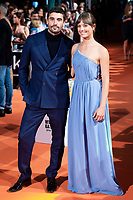 "Actor Alex Garcia and actress Michelle Jenner attends to orange carpet of ""El Continental"" during FestVal in Vitoria, Spain. September 03, 2018. (ALTERPHOTOS/Borja B.Hojas) /NortePhoto.com NORTEPHOTOMEXICO"