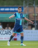 Joe Jacobson of Wycombe Wanderers during the Friendly match between Wycombe Wanderers and AFC Wimbledon at Adams Park, High Wycombe, England on 25 July 2017. Photo by Andy Rowland.