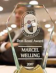 EGCOA congres: Don Rossi Award voor Marcel Welling.