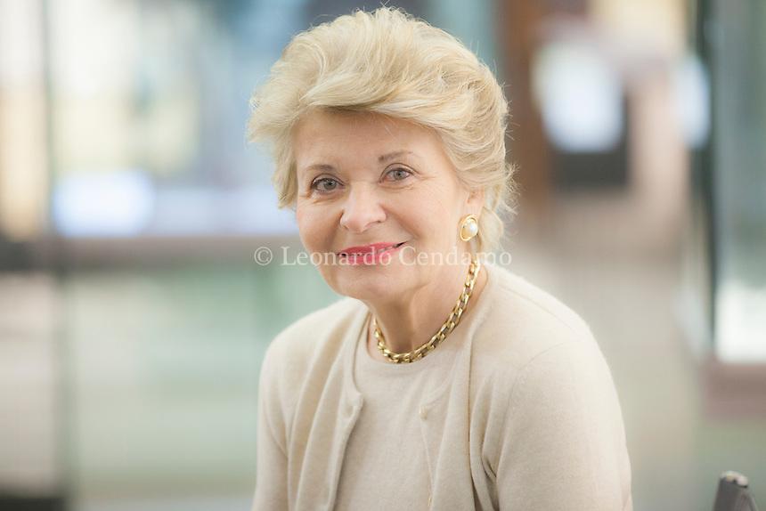 Sveva Casati Modignani è una delle firme più amate della narrativa contemporanea: i suoi romanzi sono tradotti in venti paesi e hanno venduto milioni di copie. Milano, 18 novembre 2016. Bookcity. © Leonardo Cendamo