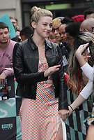 NEW YORK, NY - OCTOBER 8: Lili Reinhart at Build Series promoting the new season of the CW's Riverdale at Build Series in New York City on October 08, 2018. <br /> CAP/MPI/RW<br /> &copy;RW/MPI/Capital Pictures