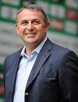 FUSSBALL   1. BUNDESLIGA   SAISON 2011/2012    1. SPIELTAG SV Werder Bremen - 1. FC Kaiserslautern             06.08.2011 Manager Klaus ALLOFS (SV Werder Bremen)