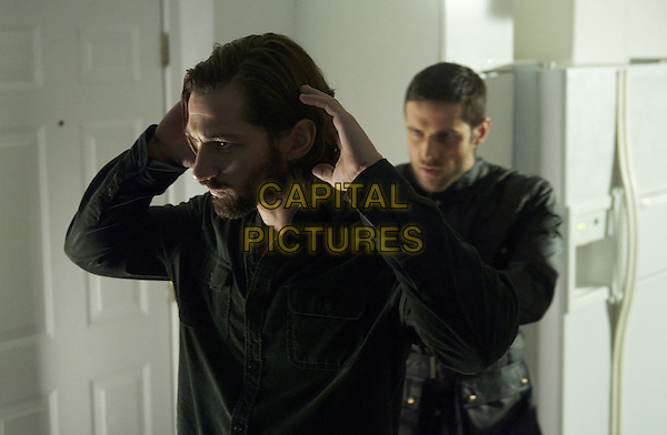 Michiel Huisman, Dylan Bruce<br /> in Orphan Black (2013&ndash; ) <br /> (Season 3)<br /> *Filmstill - Editorial Use Only*<br /> CAP/FB<br /> Image supplied by Capital Pictures