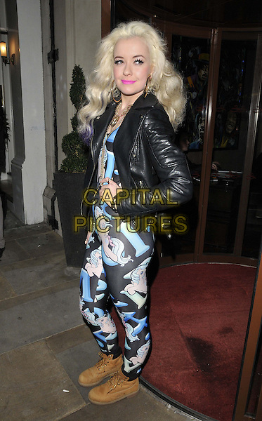 LONDON, ENGLAND - FEBRUARY 25: Lemon attends the Total Mink ethically produced mink fur eyelashes new line launch party, Sanctum Soho Hotel, Warwick St., on Tuesday February 25, 2014 in London, England, UK.<br /> CAP/CAN<br /> &copy;Can Nguyen/Capital Pictures