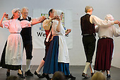 English folk dance group at Westbourne Neighbourhood Forum International Day at the Stowe Centre, Harrow Road, West London
