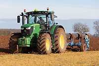 Winter Ploughing in Rutland<br /> &copy;Tim Scrivener Photographer 07850 303986<br />      ....Covering Agriculture In The UK....