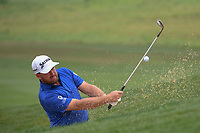 Graeme McDowell (NIR) hits from the trap on 10 during day 3 of the Valero Texas Open, at the TPC San Antonio Oaks Course, San Antonio, Texas, USA. 4/6/2019.<br /> Picture: Golffile | Ken Murray<br /> <br /> <br /> All photo usage must carry mandatory copyright credit (&copy; Golffile | Ken Murray)