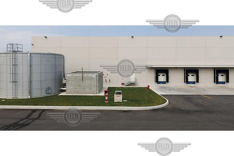 A distribution warehouse in Castagnolo.