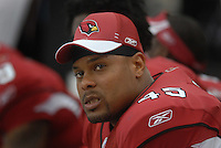 Aug 18, 2007; Glendale, AZ, USA; Arizona Cardinals fullback Terrelle Smith (45) against the Houston Texans at University of Phoenix Stadium. Mandatory Credit: Mark J. Rebilas-US PRESSWIRE Copyright © 2007 Mark J. Rebilas