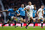England's Jonathan Joseph scoring his side's 2nd try - RBS 6 Nations - England vs Italy - Twickenham Stadium - London - 14/02/2015 - Pic Charlie Forgham-Bailey/Sportimage