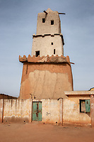 As it stands today, is believed to have been built during the tenure of King Muhammadu Korau who reigned between 1348-1398. The minaret was built by the local crafts-men using mainly sun-baked clay and mud.