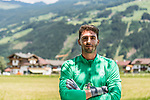 10.07.2019, DasPosthotel, Zell am Ziller, AUT, TL Werder Bremen Zell am Ziller / Zillertal Tag 06<br /> <br /> im Bild<br /> Stefanos Kapino (Werder Bremen #27) während Mixed Zone, <br /> <br /> Foto © nordphoto / Ewert