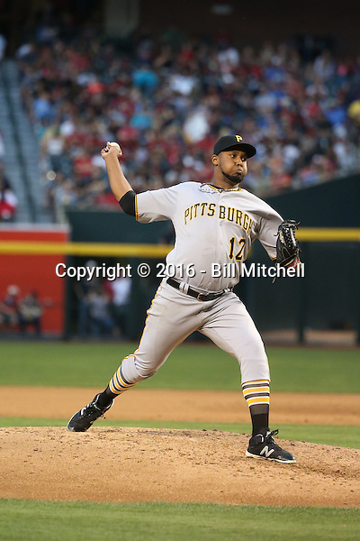 Juan Nicasio - 2016 Pittsburgh Pirates (Bill Mitchell)