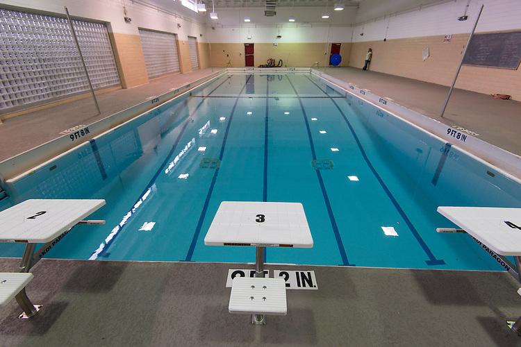 Waltrip High School pool, April 17, 2014.