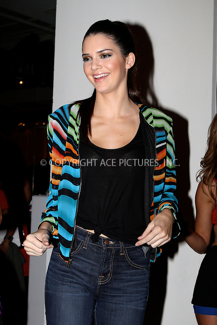 WWW.ACEPIXS.COM....September 11 2012, New York City....Kendall Jenner at the Tumbler And Tipsy By Michael Kuluva spring 2013 fashion show during Style360 at Metropolitan Pavillion on September 11, 2012 in New York City.......By Line: Nancy Rivera/ACE Pictures......ACE Pictures, Inc...tel: 646 769 0430..Email: info@acepixs.com..www.acepixs.com
