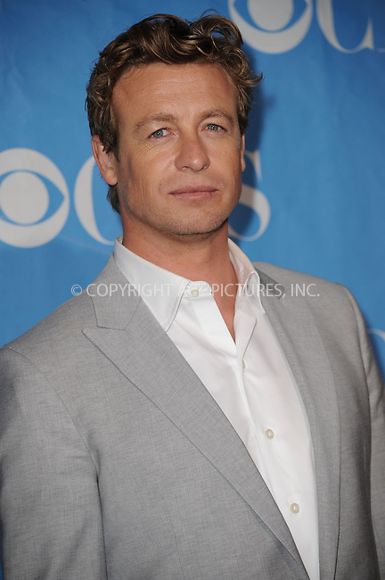 WWW.ACEPIXS.COM . . . . . ....May 20 2009, New York City....Actor Simon Baker at the 2009 CBS Upfront at Terminal 5 in Manhattan on May 20, 2009 in New York City.....Please byline: KRISTIN CALLAHAN - ACEPIXS.COM.. . . . . . ..Ace Pictures, Inc:  ..tel: (212) 243 8787 or (646) 769 0430..e-mail: info@acepixs.com..web: http://www.acepixs.com