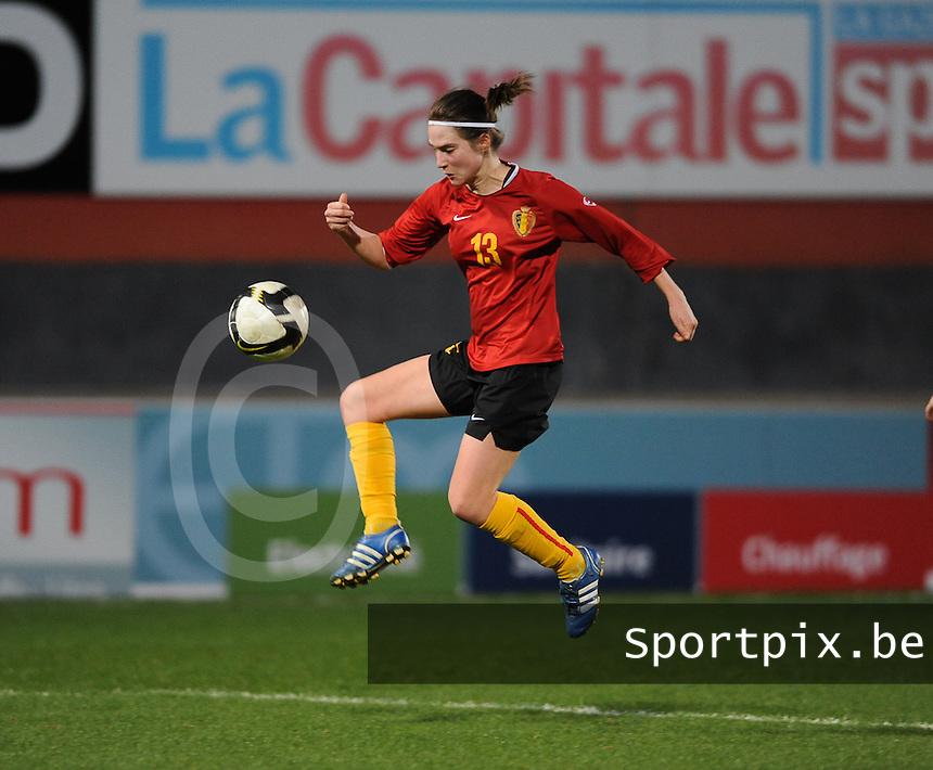 Belgium - Czech Republic : Kristien Elsen.foto DAVID CATRY / Vrouwenteam.be