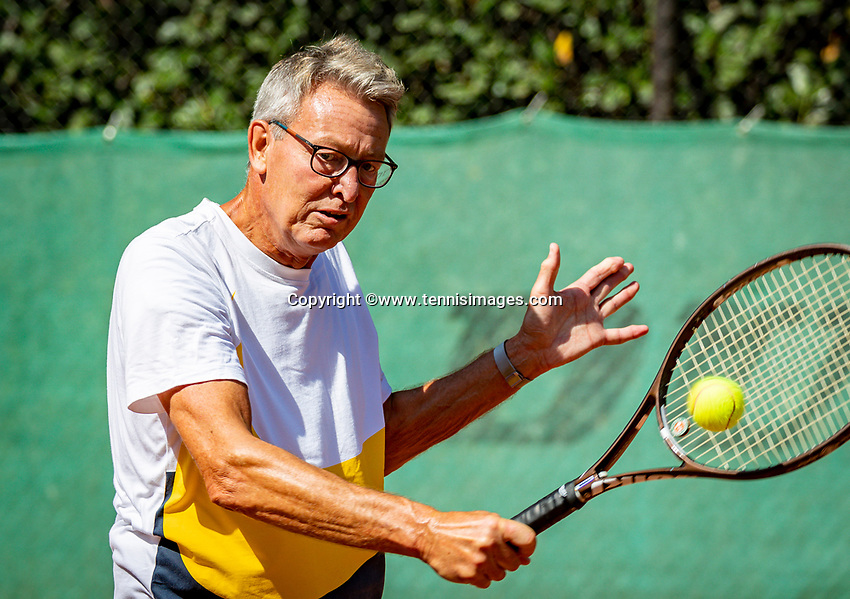 Hilversum, The Netherlands,  August 23, 2019,  Tulip Tennis Center, NSK, Jan Schoemaker (NED)<br /> Photo: Tennisimages/Henk Koster