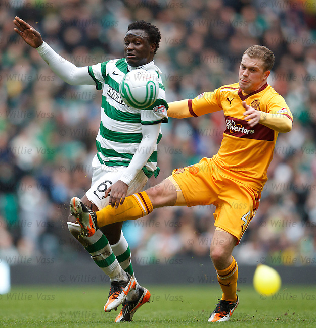 Victor Wanyama and Nicky Law