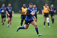 Josh Lewis of Bath Rugby in action. Bath Rugby pre-season training session on August 9, 2017 at Farleigh House in Bath, England. Photo by: Patrick Khachfe / Onside Images