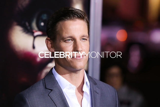 HOLLYWOOD, LOS ANGELES, CA, USA - SEPTEMBER 29: Ward Horton arrives at the Los Angeles Premiere Of New Line Cinema's 'Annabelle' held at the TCL Chinese Theatre on September 29, 2014 in Hollywood, Los Angeles, California, United States. (Photo by Xavier Collin/Celebrity Monitor)