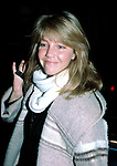 Heather Locklear Checking into the New York Hilton Hotel in New York City. February 15, 1985