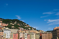 Colourful architecture, Camogli, Liguria, Italy