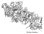 Hoffnung's Orchestra. The Bass Trombone