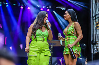 NOVA YORK (EUA) 01.09.2019 - BRAZILIAN-DAY - Simone e Simaria durante Brazilian Day (BrDay) na cidade de Nova York neste domingo, 01. (Foto: Vanessa Carvalho/Brazil Photo Press)