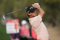 Thomas Pieters (BEL) during the second round of the Omega Dubai Desert Classic, Emirates Golf Club, Dubai, UAE. 25/01/2019<br /> Picture: Golffile | Phil Inglis<br /> <br /> <br /> All photo usage must carry mandatory copyright credit (© Golffile | Phil Inglis)