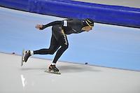 SCHAATSEN: HEERENVEEN: 20-12-2013, IJsstadion Thialf, KKT Trainingswedstrijd, Stefan Groothuis, ©foto Martin de Jong
