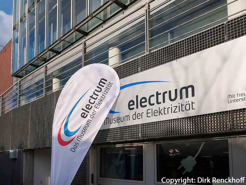 Electrum - Museum der Elektrizit&auml;t, Hamburg - Harburg, Deutschland, Europa<br /> Electrum - Museum of electricity,  Hamburg-Harburg, Germany Europe