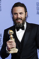www.acepixs.com<br /> <br /> January 8 2017, LA<br /> <br /> Casey Affleck appeared in the press room during the 74th Annual Golden Globe Awards at The Beverly Hilton Hotel on January 8, 2017 in Beverly Hills, California.<br /> <br /> By Line: Famous/ACE Pictures<br /> <br /> <br /> ACE Pictures Inc<br /> Tel: 6467670430<br /> Email: info@acepixs.com<br /> www.acepixs.com