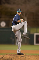 Seattle Mariners relief pitcher Max Roberts (48) during a Minor League Spring Training game against the Los Angeles Dodgers at Camelback Ranch on March 28, 2018 in Glendale, Arizona. (Zachary Lucy/Four Seam Images)