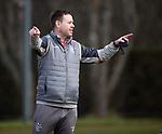 06.03.2020: Rangers training: Michael Beale